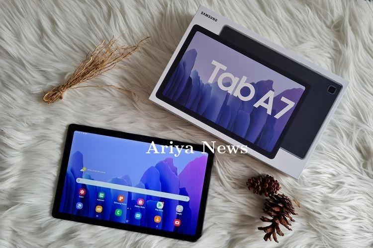 Menjajal Samsung Galaxy Tab A7