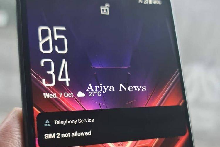 IMEI Diduga Tak Terdaftar Asus ROG Phone 3 Versi Resmi Terblokir